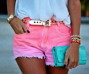 fashion, neon, and outfit image