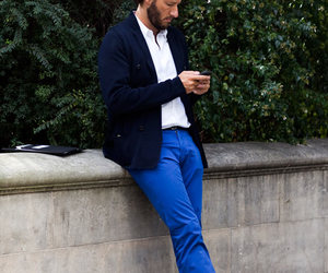 blue, fashion, and pants image
