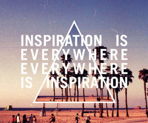 inspiration, quote, and beach image