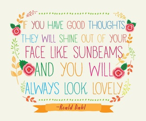 quote, lovely, and Roald Dahl image