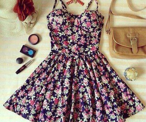 beautiful, clothes, and floral image