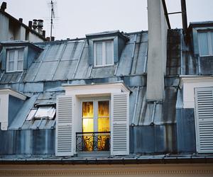 light, paris, and window image