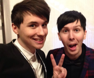 dan howell, amazingphil, and phil lester image