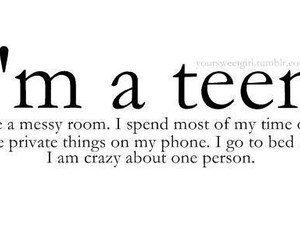 teen, quotes, and teenager image