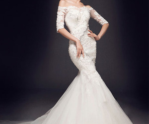weddingdress, fashionstyle, and tidebuyreviews image