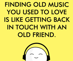 friend, memories, and music image