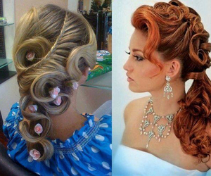 hair, hair styles, and pretty image