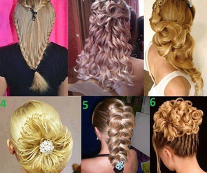 beautiful, hair, and hair styles image