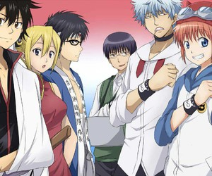 anime, gintama, and sket dance image