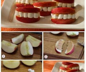 apple, diy, and food image