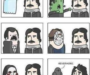 edgar allan poe, lol, and nevermore image