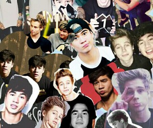 Collage, luke hemmings, and 5 seconds of summer image