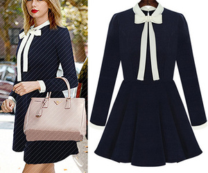 chic, collar, and Couture image