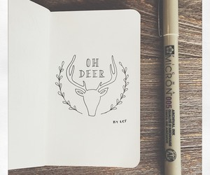 antlers, deer, and trending image