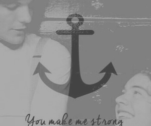 anchor, louis tomlinson, and larry stylinson image