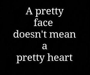 heart, quote, and face image