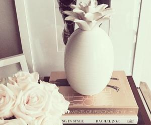 decor, luxury, and white roses image