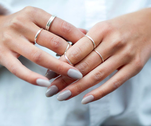 nails, rings, and style image