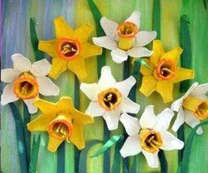 children, diy, and flower image