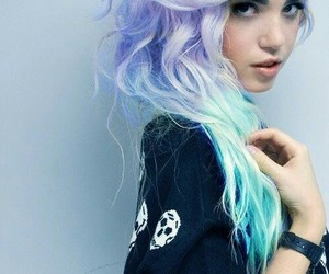 blue, colors, and pretty image
