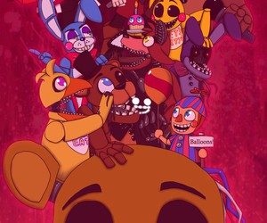 Bonnie, fnaf, and Chica image