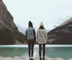 adventure, couple, and explore image