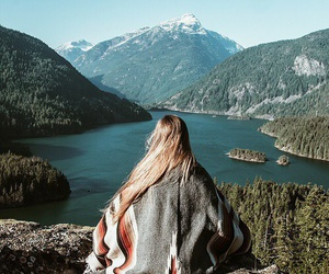 nature, mountains, and travel image