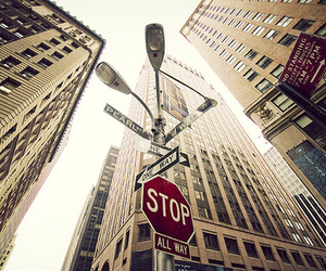 nyc, new york, and stop image