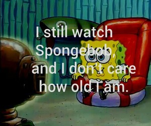 spongebob, funny, and cartoon image