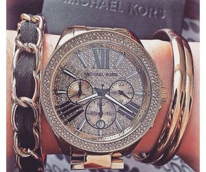 fashion, watch, and Michael Kors image