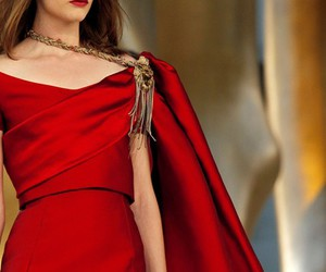 chanel, red, and dress image
