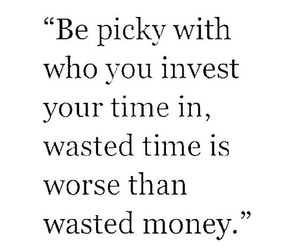 money, time, and quote image