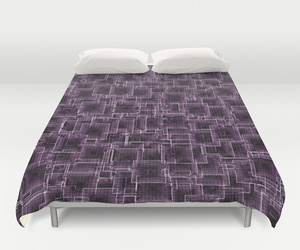 bedding, lilac, and dorm image