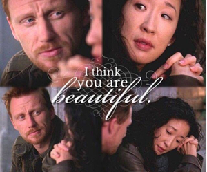 couple, cristina yang, and owen hunt image