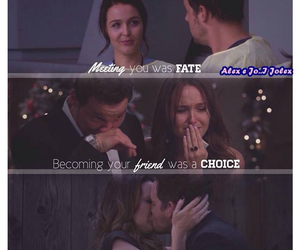 grey's anatomy, jolex, and alex karev image