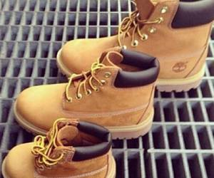 timberland, family, and shoes image