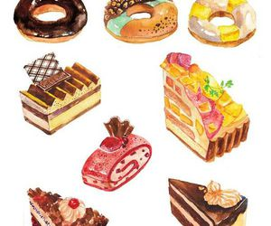 cake, donuts, and food image