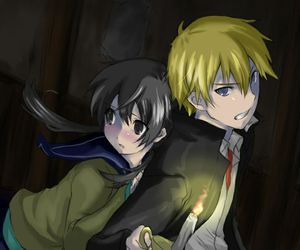 anime, horror, and corpse party image
