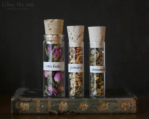 chamomile, jasmine, and rose image
