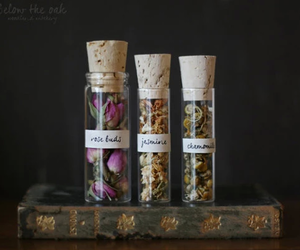chamomile, jasmine, and rose image