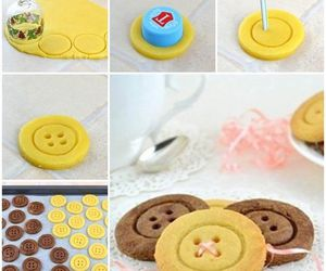 buttons, diy, and food image