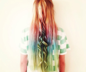 blonde, colors, and curls image