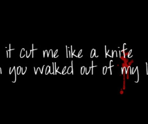 blood, cry, and cut image