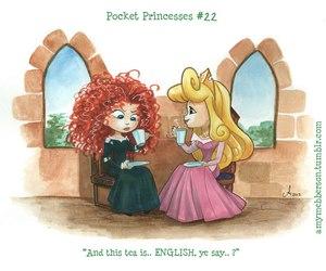 disney, pocket princesses, and aurora image