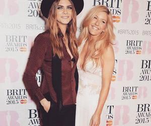 Ellie Goulding and brit awards image