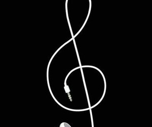 awesome, earphones, and music image