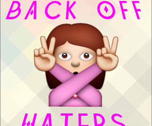 back off, background, and haters image