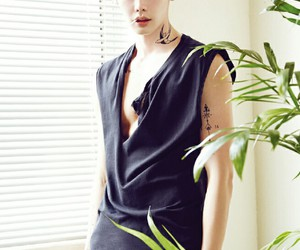 lee jong suk, model, and actor image