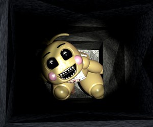 fnaf, toy chica, and five nights at freddy's image