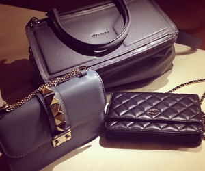bags, fashion, and black image